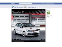 Polo GTI lanseras på Facebook