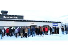 Invigning Norsjö resecentrum