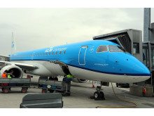 KLM Cityhopper's Embraer 190