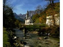 Berchtesgadener Land nær Ramsau, Tyskland / Bayern
