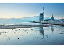 Watt bei Bremerhaven - Atlantic-Hotel-Sail-City