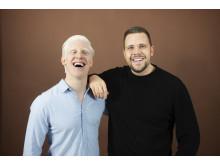 Niclas Norlindh och Jonathan Jonasson