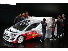 Hyundai i20 WRC - Hyundai Shell World Rally Team
