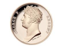 Waterloo Campaign Medal - bronze