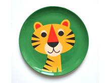 Melamintallrik - Tiger