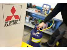 Mitsubishi Electric varmepumper - retur av gass