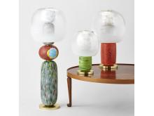 Fusa belsyningskollektion, tre lampor släckta