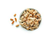 Popcorn maker för mikron jordnötssmak