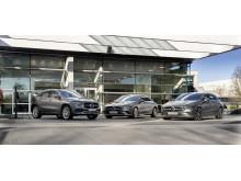 Tre nya laddhybrider i kompaktklassen från Mercedes-Benz