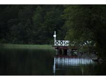Den gamla ångbåtsbryggan