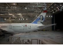 787 Dreamliner in Norwegian's livery