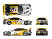 The 2017 Dunlop BMW M6 GT3 Art Car