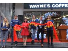 Waynes coffee grand opening china 1