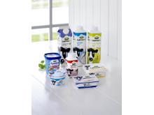 Arlas laktosefri familie består nu af otte produkter