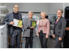 Lars Ilshammar, Gunilla Herdenberg, Helene Hellmark Knutsson och Karin Röding
