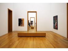"""Blick in die Ausstellung """"Arno Rink. Ich male!"""" im Museum der bildenden Künste"""