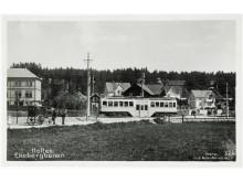 Ekebergbanen på Holtet 1930