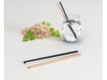 Sulapac Straws - Blurry glass woodchips