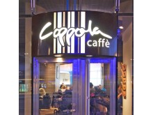 Ljuskylt Coppola Caffe