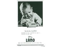 Lano-annonse fra 1946