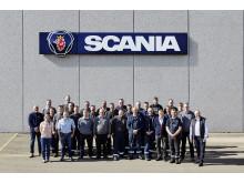 Scania I Horsens klar til at møde kunder