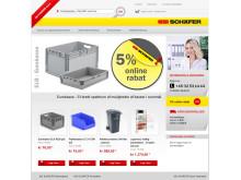 SSI Schäfer lancerer webshop