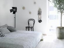 Folkhem och Lotta Agaton – sovrummet. Foto Henrik Bonnevier.