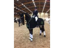 Amanda Eklund och hästen Sambucus
