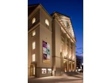 Theater Hagen bei Nacht