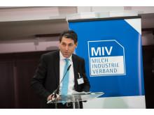 Peter Stahl, Vorsitzender des Milchindustrie-Verbandes e.V.