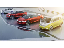 Introduktionen af de nye I.D.-ebiler tager sin begyndelse i 2020