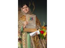 Malala Youzafsai – World's Children's Prize barnrättshjälte