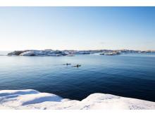 Vinterpadling Smögen Foto Roger Borgelid