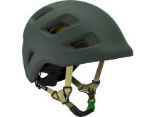 Grön Lelle-hjälm