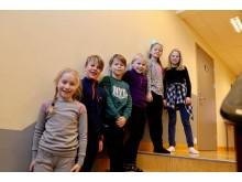 Elever på Ådland skole på Karmøy synes det er bra å få muligheten til å hjelpe andre barn.