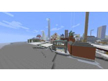 Skeppsbron byggs upp på nytt i Blockholm