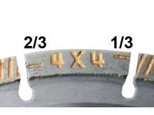 4x4 Explorer+ - Förslitningsindikator