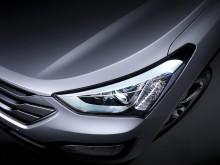 Ny Hyundai Santa Fe - LED frontlys