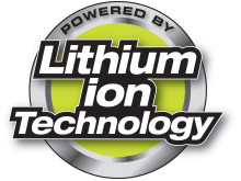 Powered by Lithium Ion