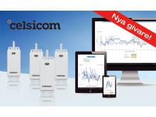 Smart fjärrövervakning med nya trådlösa Celsicom-givare