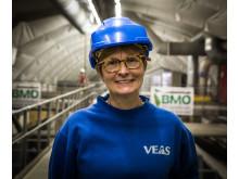 Prosessingeniør Pia Ryrfors