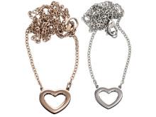 Presenttips till Alla hjärtans dag - Monaco heart halsband