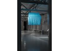 Installation view/Installationsbild The Long Way Home, 2011, Yasmin Jahan Nupur, Delta & Sediment Färgfabriken 2019