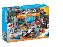 PLAYMOBIL-Adventskalender Spy Team Werkstatt