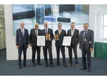 Seifriz-Preis des deutschen Handwerks 2017 für Rohrinnenbeschichtungen mit Epoxidharzsystem