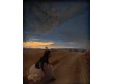 L.A. Ring. Aften, 1887. Olie på lærred, 121 x 95 cm. Statens Museum for Kunst. Foto Statens Museum for Kunst