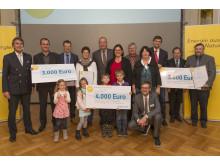 Bürgerenergiepreis Oberpfalz 2014 - Gruppenfoto