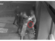 CCTV still of assault