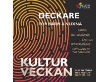 Framsida program Kulturveckan 2018