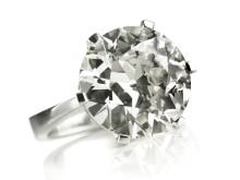 Jan Stockmarr diamant solitairering